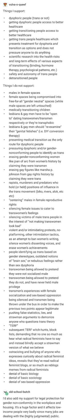 Trans people are people. They are not any better or worse than the rest of us, and their opinions do not count more than or less than any other LGBT person's opinions when it comes to LGBT rights.