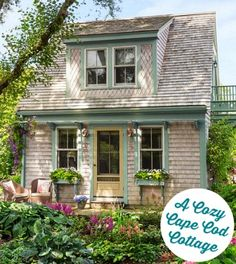 An Old Garage Turned Into a Guest Cottage on Cape Cod