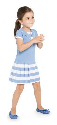 Moda Infantil Verano Dresses For 2019 Little Girl Outfits, Little Girl Dresses, Kids Outfits, Girls Dresses, Little Fashion, Baby Girl Fashion, Kids Fashion, Dress Anak, Moda Kids