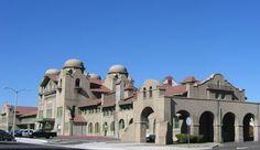 Atchison, Topeka and Santa Fe Railway Passenger and Freight Depot in San Bernardino County, California
