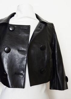 Veste en cuir noire Tipster, neuve, jamais portée, 34 XS   Pinterest 2328b960cfee