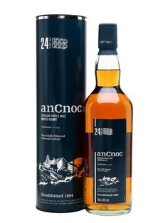 Top shelf: anCnoc 24 year (£120)