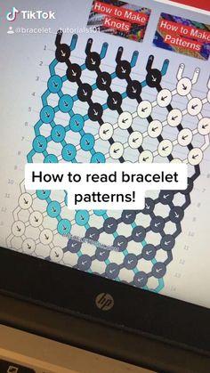 Diy Bracelets Patterns, Yarn Bracelets, Diy Bracelets Easy, Bracelet Crafts, Diy Friendship Bracelets Tutorial, Diy Friendship Bracelets Patterns, Bracelet Tutorial, Projects, Jewelry