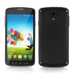 Flare 4.7 Inch Screen 3G Smartphone - MT6572 Dual Core 1.2GHz CPU, Support Dual SIM, Dual Cameras (Black