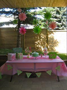 modern garden party