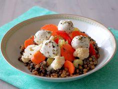 Giardiniera Lentil Salad www.foodtasticmom.com