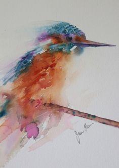 Resultado de imagen para bird watercolor