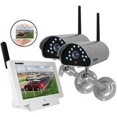Securityman Indoor And Outdoor Isecurity Digital Wireless Camera System (pack of 1 Ea)