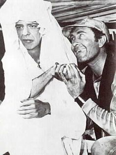 Barney (Don Knotts) dancing with Ernest T. Bass (Howard Morris)