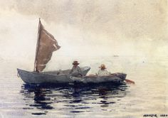 The Athenaeum - Boating Boys in Gloucester (Winslow Homer - )