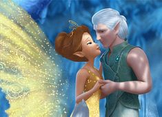 fell in love with these two <3 cutest couple (Tinkerbell movie)