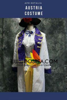 APH Hetalia Austria Cosplay Costume