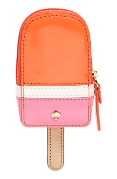 This adorable Kate Spade coin purse is sure to standout this summer. It's the perfect sweet treat without melting in the handbag.