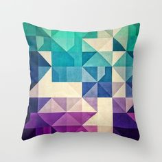 Don't you love the unfolding angles of this bold graphic pillow cover? With a range of fashionable color options, you're sure to find one to light up your favorite chair.