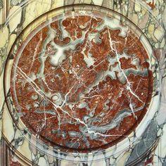 Painted Rouge Royal Marble- Marc Potocsky / MJP Studios, CT/NY http://mjpfaux.com/painted-faux-marble/