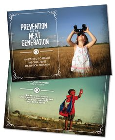 child abuse prevention program capp agency of record nonprofit design agency ad creative firm boutique new york city nyc the watsons invitation event design