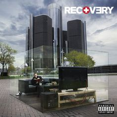 20 Architectural Album Covers    Eminem, Recovery (2010)  Renaissance Center by John Portman & Associates