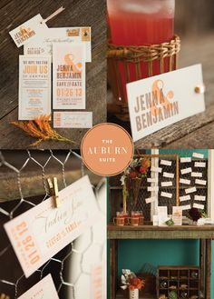 SOPHISTICATED FALL PALETTE.  Dauphine Press' inspiration board and shoot for their Auburn Suite - lovely.    Photography - Nicole Gerulat Hill