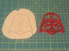 Darth Vader Cookie Cutter by on Etsy Star Wars Cookie Cutters, Star Wars Cookies, Cooking Supplies, Cookie Decorating, Sugar Cookies, Dessert Recipes, Desserts, Stencils, Darth Vader