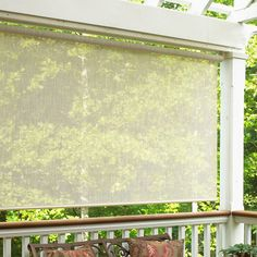 Have to have it. Lewis Hyman 03708 Exterior Sun Shade - $89.99 @hayneedle.com