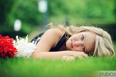 very cute for a cheerleader 3 Month Shoot Idea Country Girl - High School SENIORS Senior Girl Poses, Girl Senior Pictures, Dance Pictures, Senior Girls, Cute Cheer Pictures, Team Pictures, Dance Photos, Cheer Picture Poses, Cheer Poses