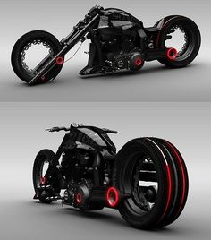 Outrageous Lochness Concept Chopper It reminds me of a batman motorcycle (: Triumph Motorcycles, Concept Motorcycles, Cool Motorcycles, Super Bikes, Image Moto, Ducati, Yamaha, Motos Harley, Harley Gear
