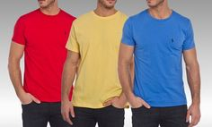 Ralph Lauren Polo T-shirts. Multiple Colors Available. Free Returns.
