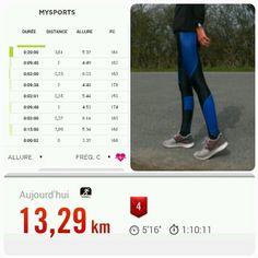 #prepasemi S3-J2  Séance AS 21 ou l heure de vérité   20' d échauffement 3 x 2000 m AS 21 R 2'  15' de retour au calme J appréhendais cette séance depuis hier  Je visais entre 5'10 et 5'20 de moyenne sur mes intervalles course...et au final elles sont toutes les 3 en dessous des 5'  too happy  Le travail paye les amis  bonne journée les sportifs !  #fitness #fitnessaddict#fitfrenchies#runners#runner#runnergirl#runninggirl#fitgirl…
