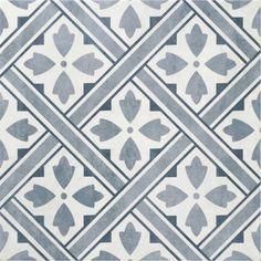 ceramic flooring The Laura Ashley Mr Jones Midnight blue floor tile by British Ceramic Tile. White-body ceramic floor tile with a matt finish. Ceramic Floor Tiles, Bathroom Floor Tiles, Wall And Floor Tiles, Wall Tiles, Ceramic Flooring, Porcelain Floor, Floor Patterns, Wall Patterns, Geometric Patterns
