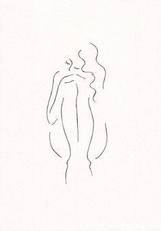 Minimalist line art PRINT. Black and white ink drawing of a Minimalist line art PRINT. Black and white ink drawing of a girl sitting. by Siret - Line Art, Minimalist Drawing, Minimalist Artwork, Minimalist Painting, Black And White Artwork, Black And White Illustration, Black Art, Simple Art, White Ink