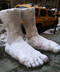 Another 2 feet of snow, indeed!