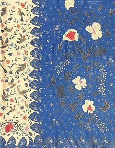 O velho que inspira o novo: Batik by Gan Sam Gie Textiles, Textile Prints, Textile Patterns, Textile Design, Fabric Design, Batik Pattern, Pattern Mixing, Batik Art, African Fabric
