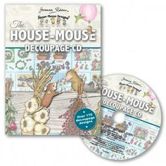 """""""The House-Mouse Decoupage CD"""", Stock #: HMDDCD, from House-Mouse Designs®. This item was recently purchased off from our web site. Click on the image to see more information."""