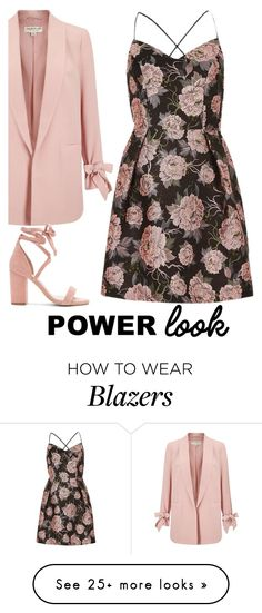 """*POWER LOOK*"" by jjlenka on Polyvore featuring Miss Selfridge, River Island and Raye"