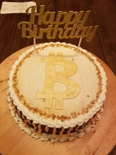 Image result for bitcoin cake Birthday Cake, Happy, Desserts, Image, Food, Birthday Cakes, Deserts, Dessert, Meals