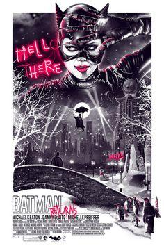 Batman Returns by Movie Poster Movement