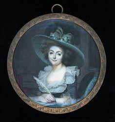 Sophie de Grouchy, Marquise de Condorcet - 1764-1822 - Ecrivaine, philosophe des Lumières, traductrice française de Thomas Paine et d'Adam Smith. Influenceuse féministe, en particulier de son mari le Marquis de Condorcet.