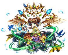 Wind Princess Rozalia Brave Frontier, All Status, Character Concept, Character Ideas, Hack Online, Summoning, Chibi, Cool Art, Geek Stuff