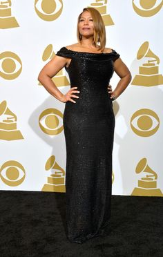 Queen Latifah Photos Photos - Recording artist Queen Latifah poses in the press room during the 56th GRAMMY Awards at Staples Center on January 26, 2014 in Los Angeles, California. - Press Room at the Grammy Awards