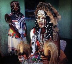 Sangomas (in other words - traditional witchdoctors) South Africa