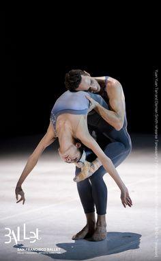 Yuan Yuan Tan and Damian Smith in Tomasson's 'The Fifth Season' at SF Ballet (© Erik Tomasson) - Ballet, балет, Ballett, Bailarina, Ballerina, Балерина, Ballarina, Dancer, Dance, Danse, Danza, Танцуйте, Dancing