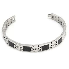 Hpolw Bracelet Black Carbon Fiber Magnetic Titanium Steel Mens Bracelet with Rhinestones Valentine's Gift Hpolw http://www.amazon.com/dp/B00YBIMEHY/ref=cm_sw_r_pi_dp_OyO7vb1V7NMZQ