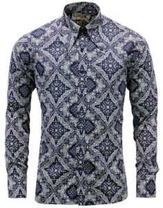 Madcap Laughs: Style Of The Week - 'Capo' Shirt #madcapengland #madcaplaughs #capo #retro #mod #60s #1960s #sixties #psychedelic #paisley #mens #fashion #blog #fashionblog