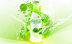 Coca-Cola Green Limited Edition Bottle designed by David Quartino