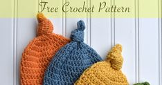 Top Knot Hat   (US Crochet terms)   Abbreviations:  Ch = Chain  Dc = Double Crochet  St(s) = Stitch(es)  Rnd(s) = Round(s)   Skill Lev...