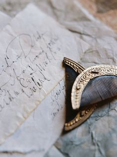 September Letters Calligraphy | Laura GordonPhotography | Chateau de Moissac | Wedding Sparrow
