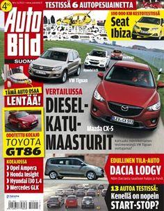 Kesäkuussa 2012 Entressen kirjastossa esitellään tiede- ja tekniikkalehtiä. Mazda, Toyota