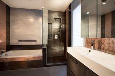 Salle de bain, Bathroom Rénovation Montréal Groupe SP Réno Urbaine