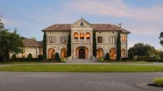 Stone Tuscan mansion :: Dallas, Texas