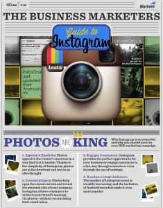 Learn how to generate leads and captivate your audience in our brand new infographic #Instagram